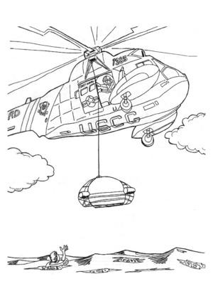 Служба спасения работает на авиационном предприятии
