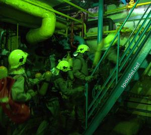 Учебная тревога на хладокомбинате - спасатели отрабатывают навыки
