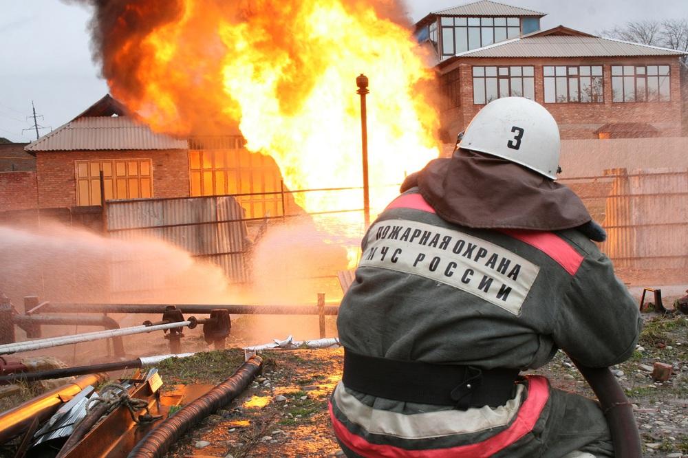 Пожарной охране России - 372 года