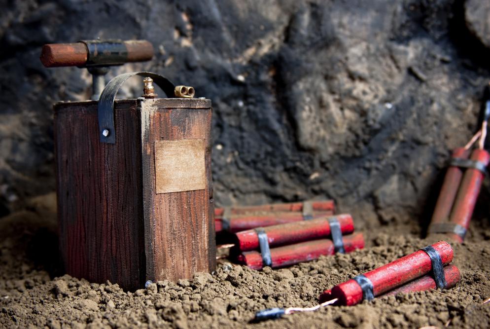 Меры безопасности при обращении с взрывчаткой