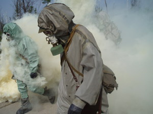 Газоспасательная служба сообщает: утечка аммиака на московском хладокомбинате